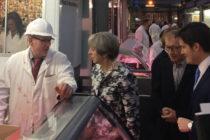 Οι Λονδρέζοι κρεοπώλες και η πρωθυπουργός της Βρετανίας